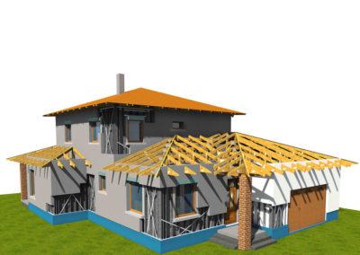 Quaestum Consult, WYW Block, könnyűszerkezetes ház, családi ház, generálkivitelezés, házépítés, kulcsrakész ház