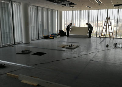 BKV Kelenföldi Diszpécserközpont – átalakítás, tervezés, kivitelezés