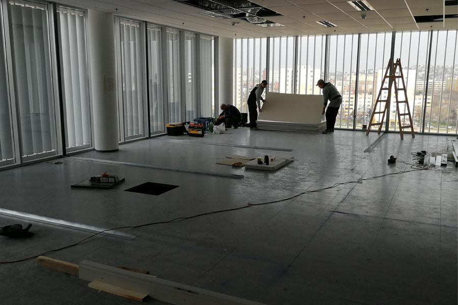 BKV Kelenföldi Diszpécserközpont, átalakítás, tervezés, kivitelezés, Quaestum Consult