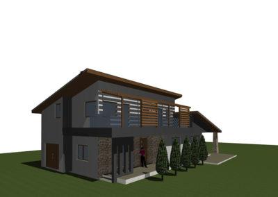 Béb családi ház tervezés, kulcsrakész kivitelezés