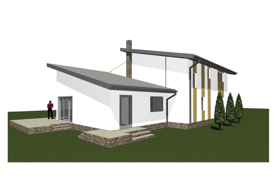 családi ház tervezés, kulcsrakész kivitelezés, Quaestum Consult