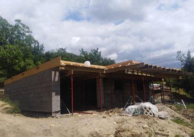 Pomáz családi ház – tervezés, kivitelezés