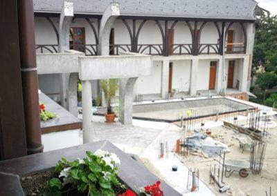 Szerkezetépítés – Temesvár, Új ezredév Református Központ