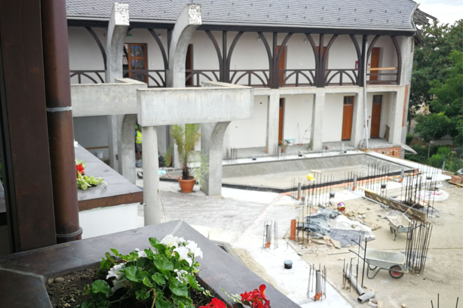 Temesvár, Református templom szerkezetépítés, alapozás, Quaestum Consult