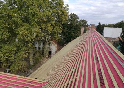 Szerkezetépítés – KAPOSVÁR – Tetőszerkezet rekonstrukciója