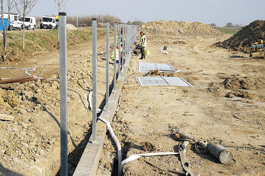 3d kerítés építés, kerítés kivitelezés