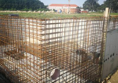 Népfőiskola, Lakitelek – Fürdő fejlesztés projekt szerkezetépítés