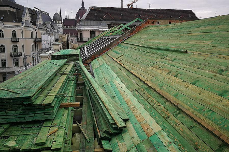 Tetőszerkezet építés, tető készítés