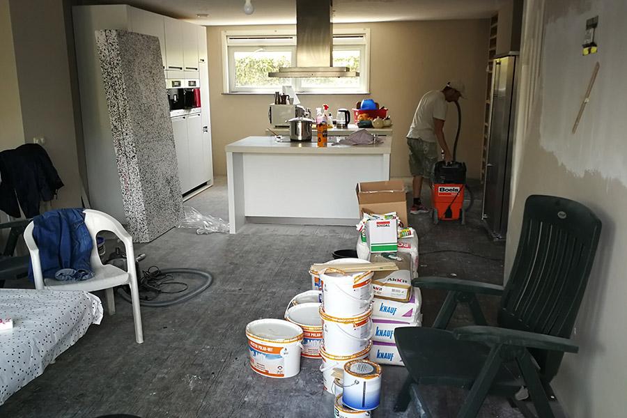 lakásfelújítás, ház átalakítás