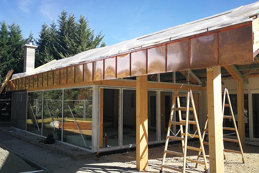 vendégház bővítés, télikert, ház tervezés, házépítés, lakásfelújítás